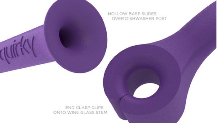 Accessoire design pour lave vaisselle Quirky