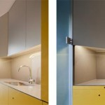 Appartement design jaune
