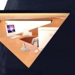 Bureau d'appoint design Tetra