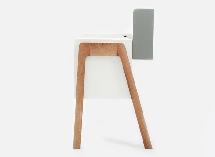 Bureau design Capa Desk par Reinhard Dienes