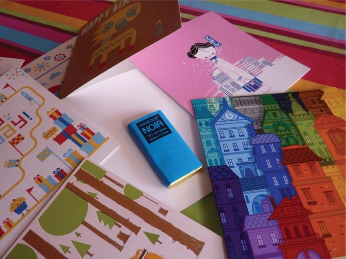 Cartes de voeux design Atelier 81