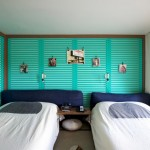 Chambre turquoise du Ace Hotel
