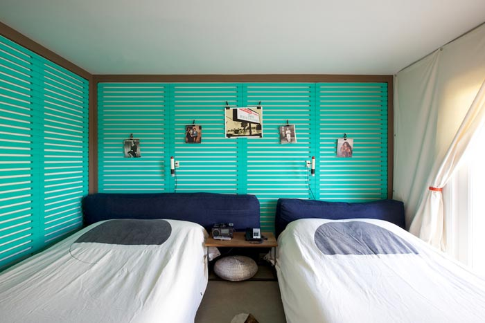 Chambre turquoise du ace hotel arkko for Design chambre turquoise