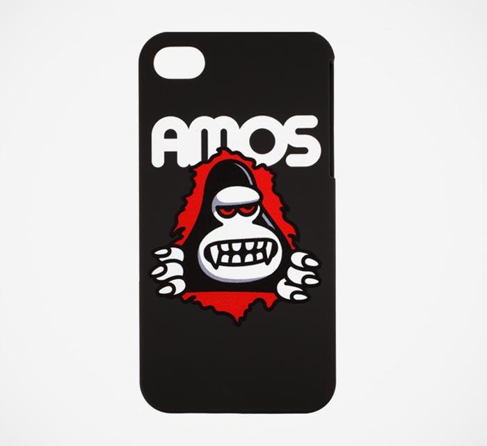 Coque design pour iPhone 4 et 4S Amos Toys