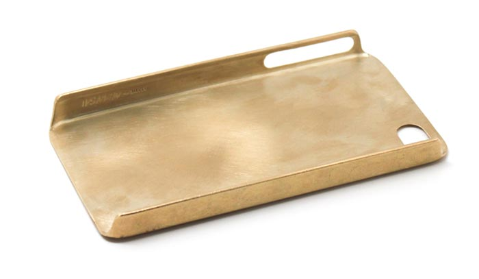 Coque iPhone design en or