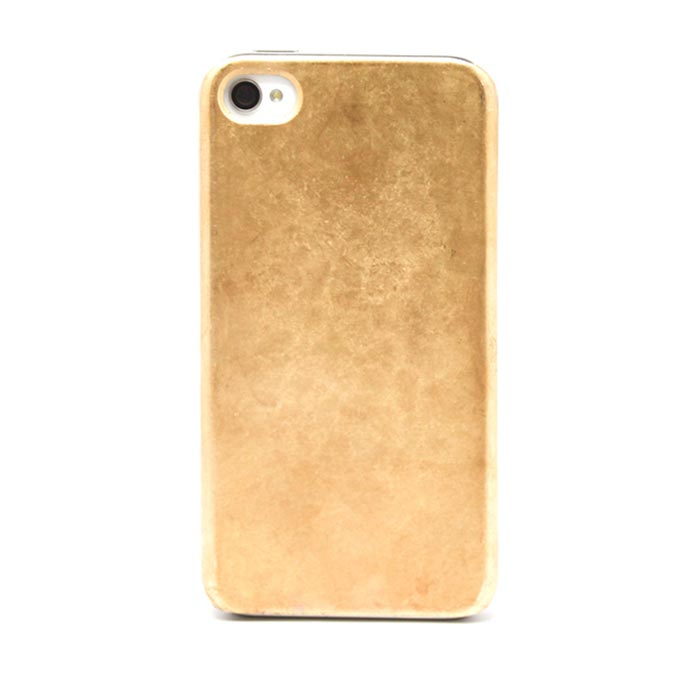 Coque iPhone en or