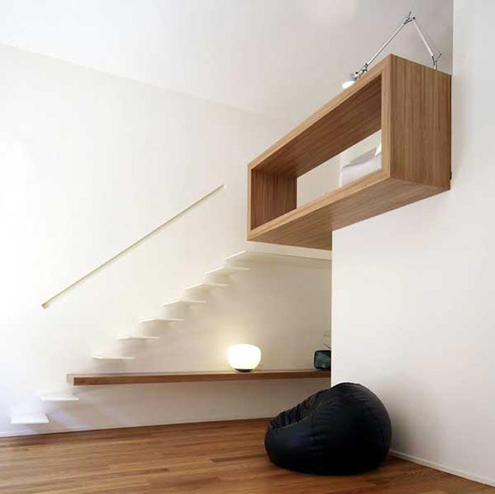 Interieur Design Bois Et Blanc