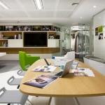 Espace de travail des bureaux Google de Londres