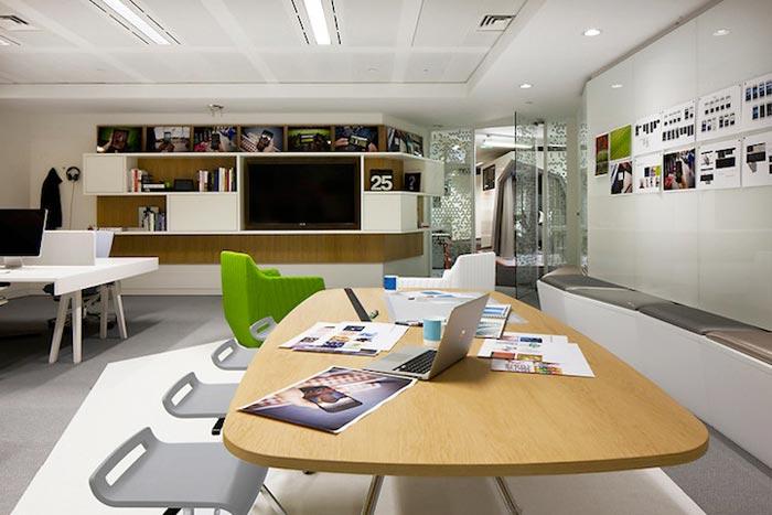 espace de travail des bureaux google de londres arkko. Black Bedroom Furniture Sets. Home Design Ideas