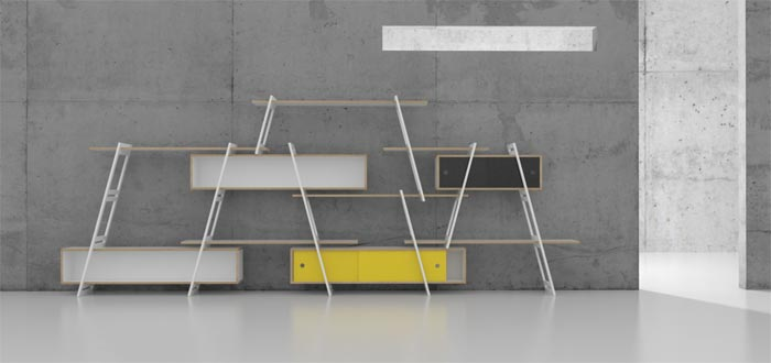 Etagere design DLF PRODUCTDESIGN