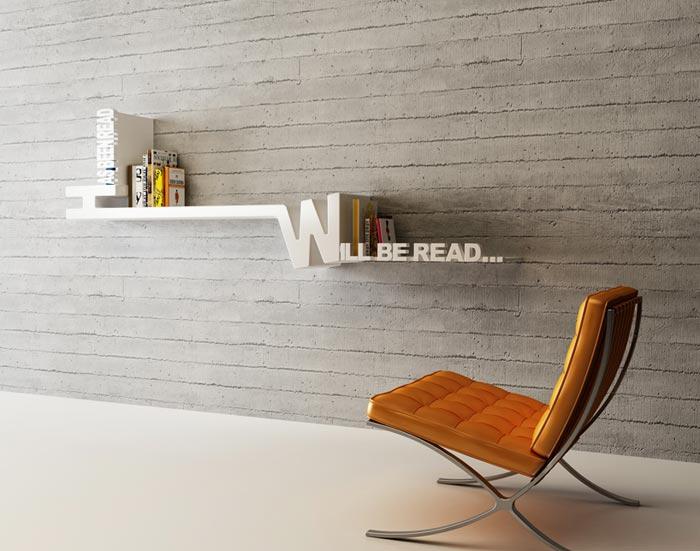 Etagere design Target Bookshelf par Mebrure Oral