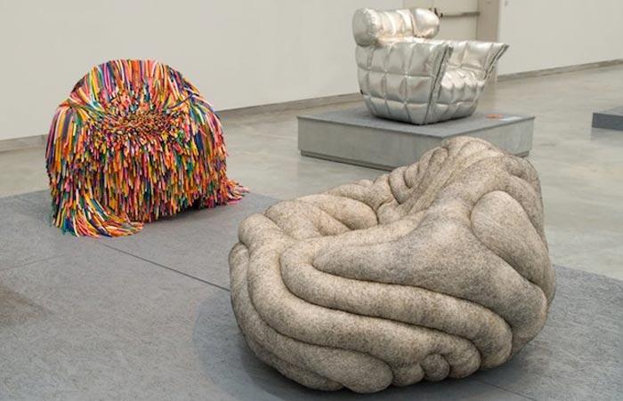 Happy Material Chair par Pini Leibovich