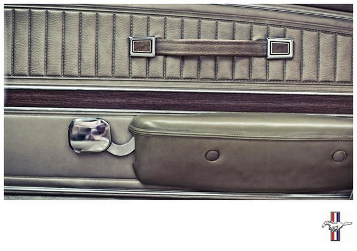 Interieur Mustang Fastback