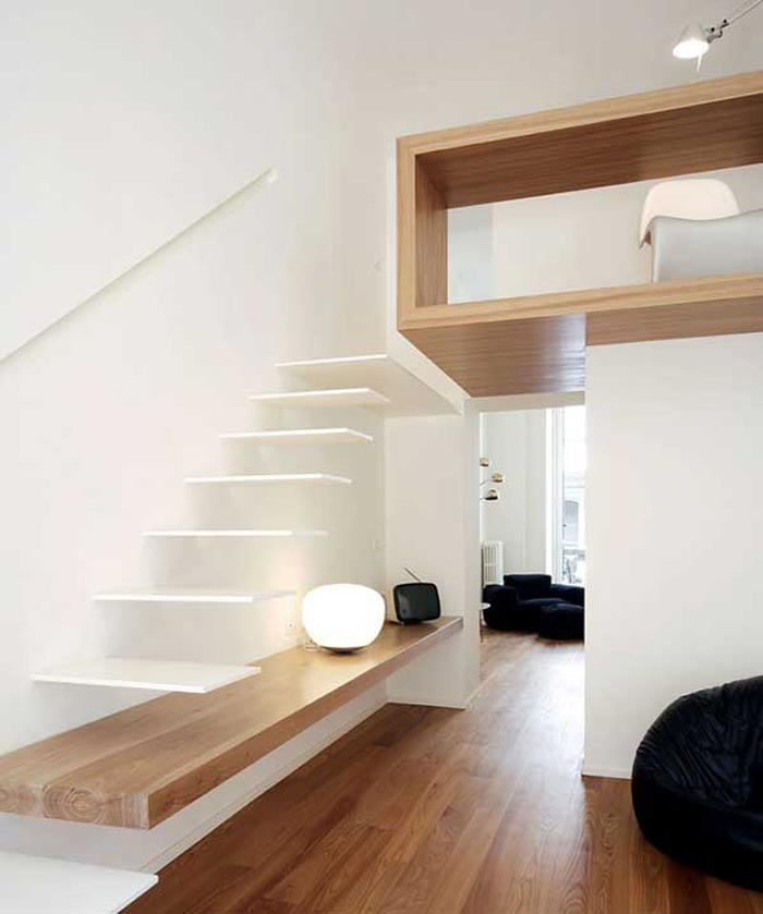 Interieur Moderne Avec Insertion De Bois Arkko