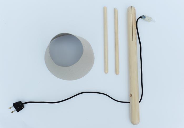 Kit Lampe design Pine Lamp
