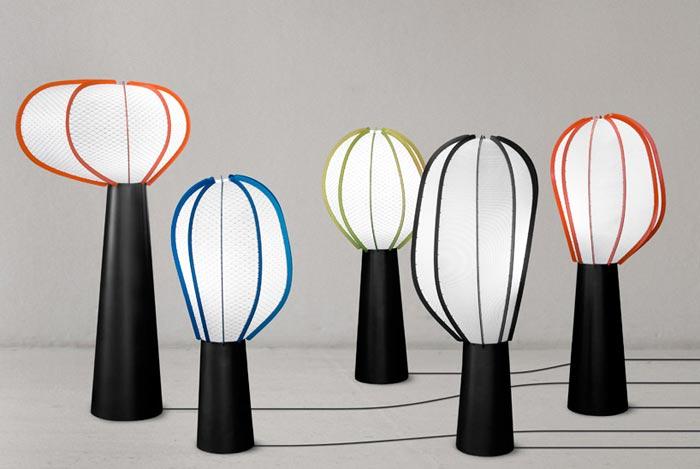 Lampe design Moais