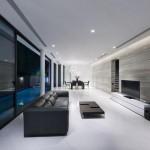 Maison design par Park + Associates-Salon