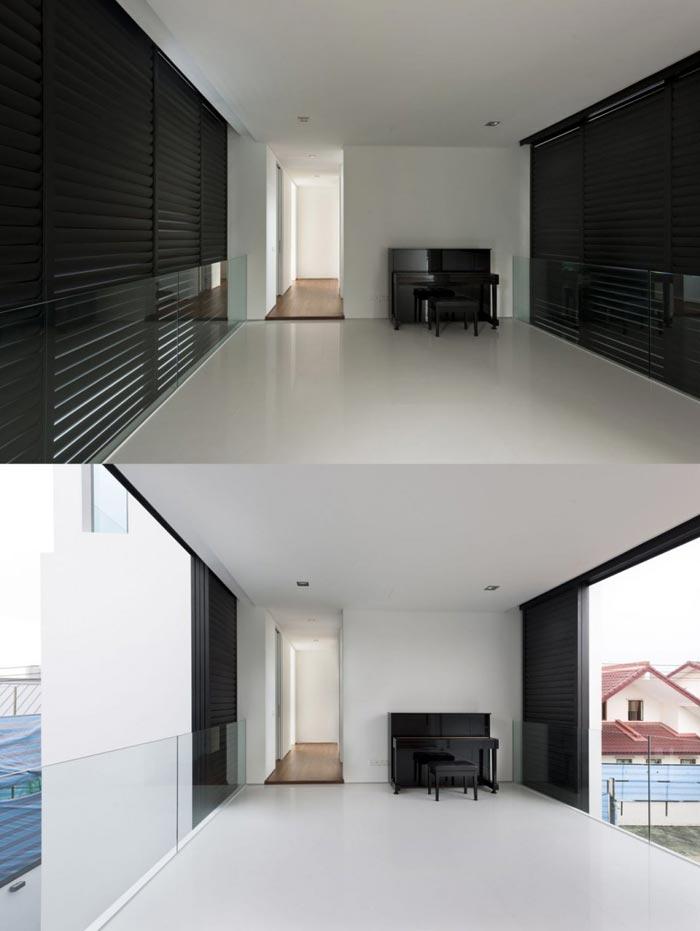 Maison design par Park + Associates-Stores interieurs