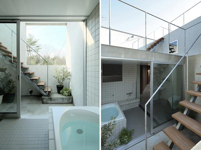 Maison design par Studio Synapse- salle de bain