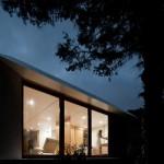 Maison prefabriquee avec baie vitree
