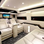 Mercedes Benz Sprinter Jetvan interieur creme