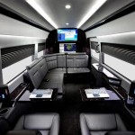 Mercedes Benz Sprinter Jetvan interieur noir