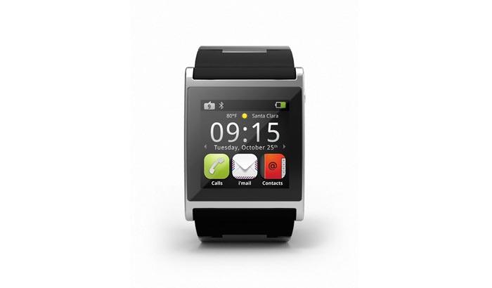 Montre design I'm watch noire