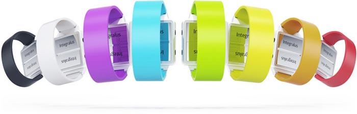 Montre design coloree