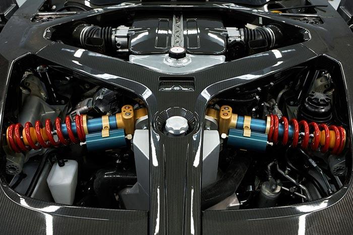 Moteur Aston Martin One-77 Supercar
