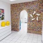 Mur de separation en Lego