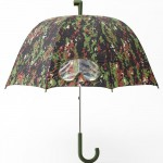 Parapluie design camouflage Goggle vert