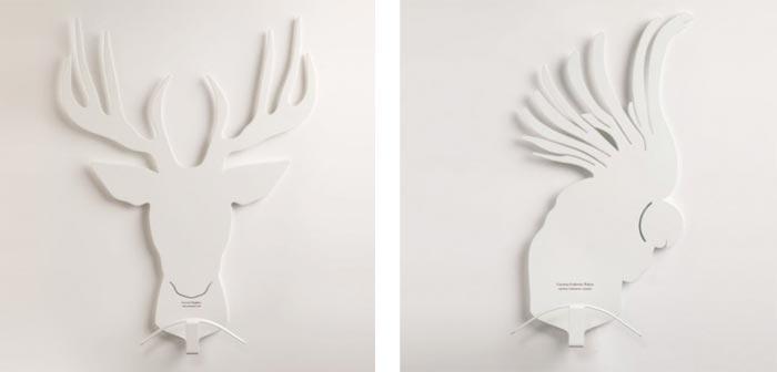 Patere design en forme d animaux