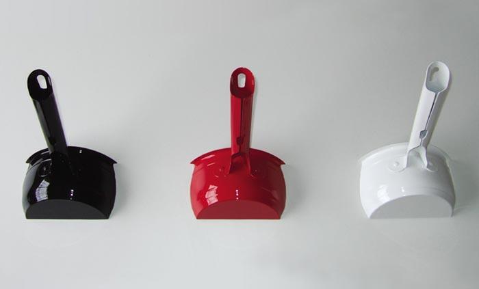 Patere design en forme de casserole