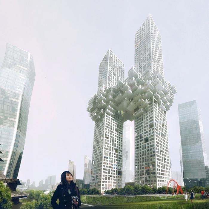 Projet architectural The Cloud Building