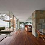 Residence design californienne Cheminee