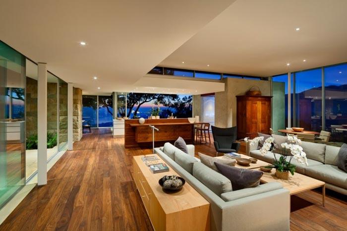 Residence design californienne Salon