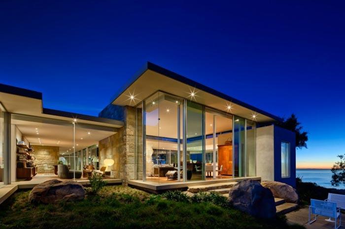 Residence design californienne Vue exterieure