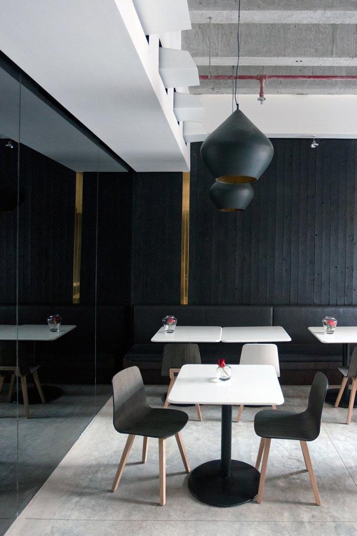 Restaurant design Ubon par Rashed Alfoudari