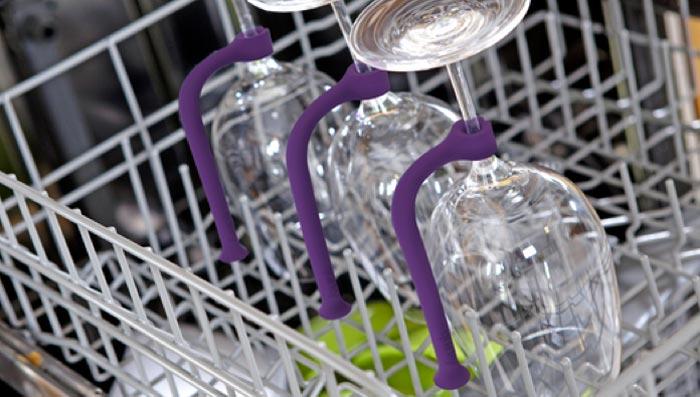 Securite pour verres a vin dans lave vaisselle Quirky