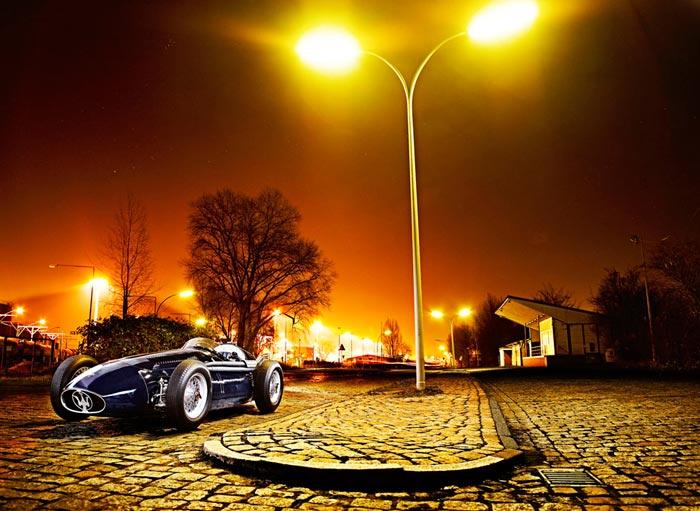 Serie de photos de la Maserati 250F