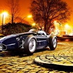 Shooting photo de la Maserati 250F
