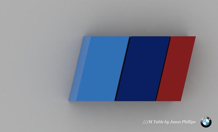 Table basse BMW M par Jason Phillips