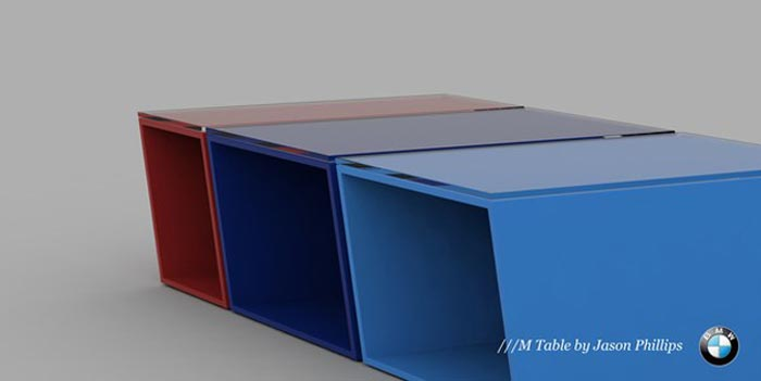 Table basse BMW M
