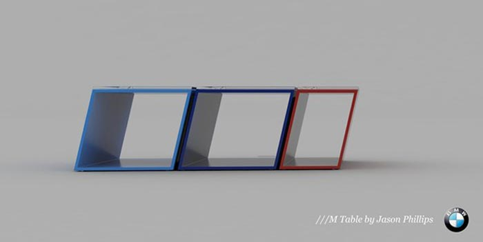 Table basse design  BMW M