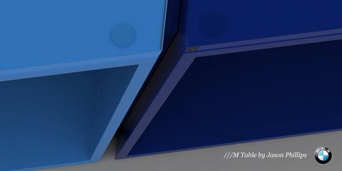 The BMW M table par Jason Phillips