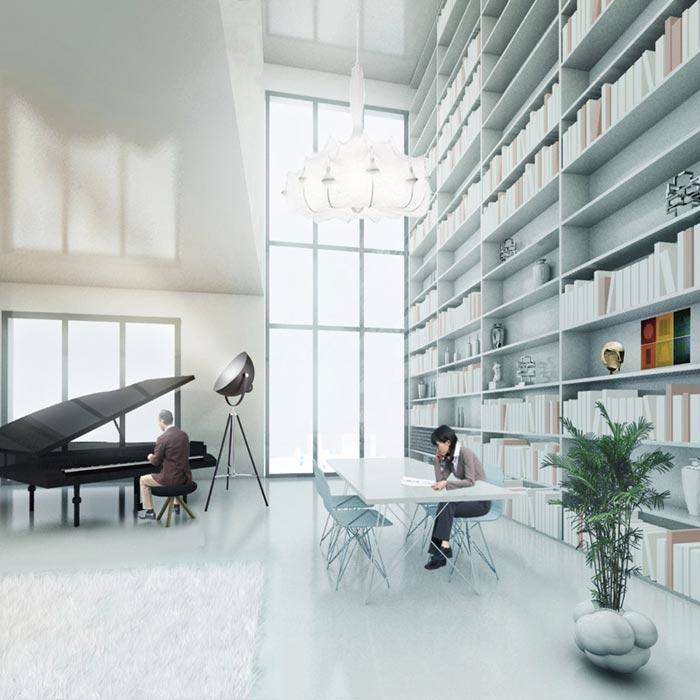 The Cloud Building par MVRDV