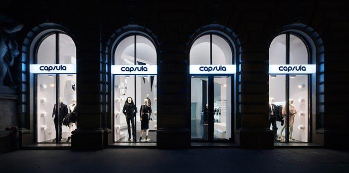 Agencement de boutique design