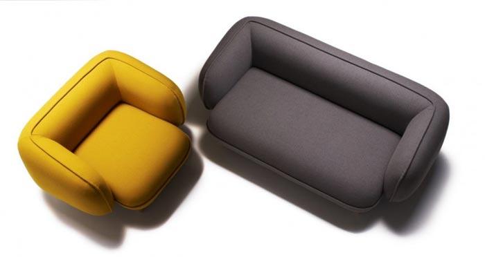 Canape et fauteuil Snoopy
