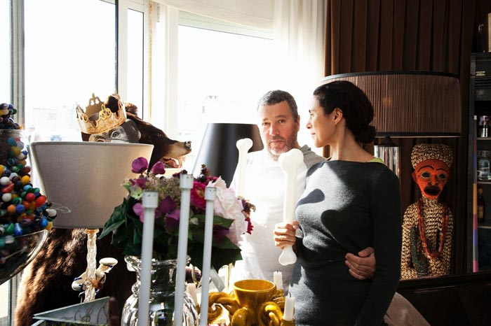 Chez Jasmine et Philippe Starck