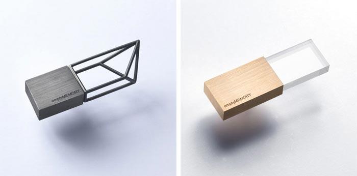 Cle USB design Empty Memory par Logical Art
